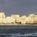 Alexandria waterfront — Stock Photo