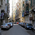 Alexandria street — Stock Photo