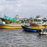 Fisherman harbour — Stock Photo