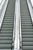 Double escalators — Stock Photo
