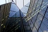 Facade triangular — Stock Photo