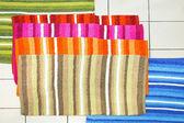 Doormats straps — Stock Photo