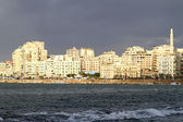 Alexandria waterfront — Stockfoto
