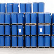 Blue barrels — Stock Photo #28655511