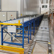 Warehouse conveyor — Stock Photo