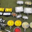 Auxiliary lamps — Stock Photo