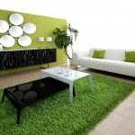 Green living room — Stock Photo #2894030