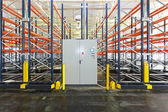Powered mobile shelving — Stock Photo