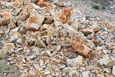 Stones and rocks — Stock Photo