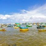 Alexandria harbour panorama — Stock Photo