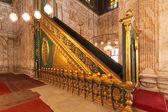 Alabaster moskén minbar — Stockfoto