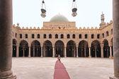 Mosque courtyard — Stock Photo
