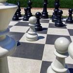 Giant chess set — Stock Photo #30177083