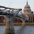 Stock Photo: Millennium Bridge