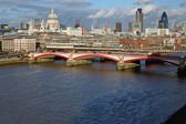 Blackfriars Bridge London — Stock Photo