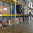 Stock Photo: Industrial shelving system