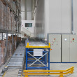 Conveyor in warehouse — Stock Photo