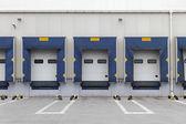 Cargo doors — Stock Photo