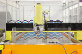 Water jet cutter — Foto Stock