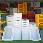 Crates — Stock Photo