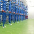 Warehouse freezer interior — 图库照片