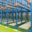 Stock Photo: Warehouse shelving system