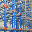 Stock Photo: Pallet shelves
