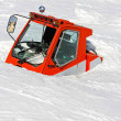 Avalanche vehicle — Stock Photo