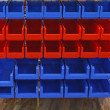 Stock Photo: Storage bins