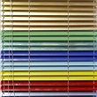 Stock Photo: Aluminium blinds