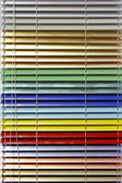 Aluminium blinds — Stock Photo