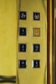 Elevator control station — Stock Photo
