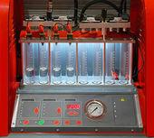 Czyszczenia wtryskiwaczy i tester — Zdjęcie stockowe