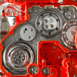 Stock Photo: Gear box