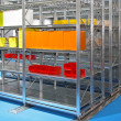 Stock Photo: Shelving system