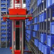 Stock Photo: Automated storage robot