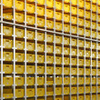 Stock Photo: Yellow crates