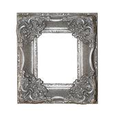 Silver frame — Stock Photo