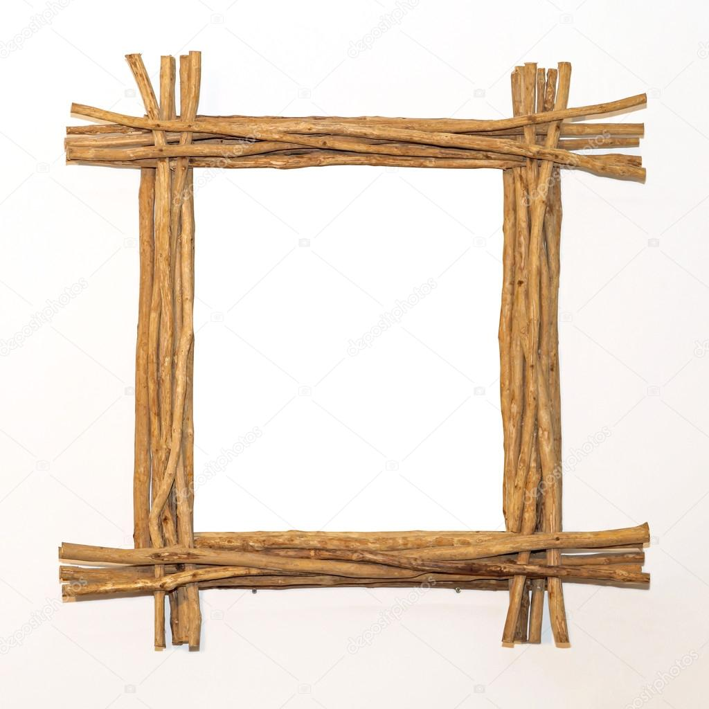 Marco de madera palos fotos de stock baloncici 33090945 Marcos fotos madera