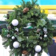 Christmas wreath — Stock Photo #33338439
