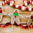 Gingerbread decoration — Stock Photo