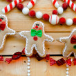 Stock Photo: Gingerbread decoration