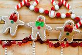 Gingerbread dekorasyon — Stok fotoğraf