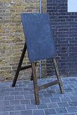 Easel blackboard — Stock Photo