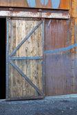 Warehouse door — Stockfoto