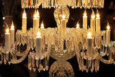 Crystal chandelier — Stock Photo