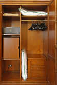 Hotel closet — Stock Photo