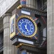 Stock Photo: Art deco clock
