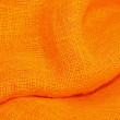 Orange cloth — Stock Photo