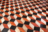 Floor cube tiles — Stock Photo